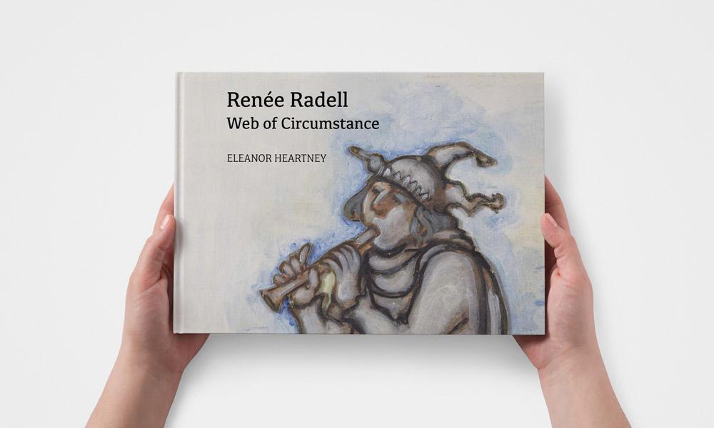 Renee Radell Web of Circumstance artbook monograph